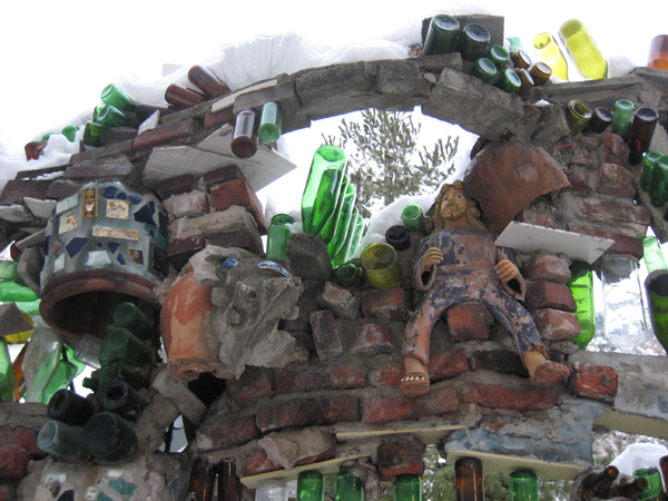 The Grotto, Isaiah Zagar's Magic Gardens, Philadelphia.