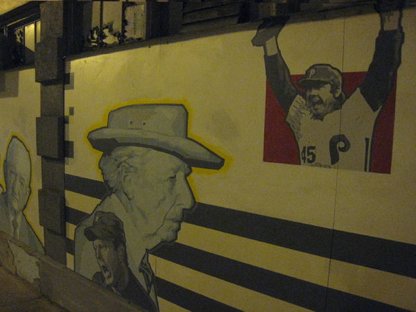a Mural of The Pirates and an old architect.