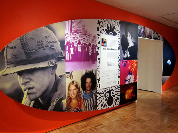 "Entry into the ""1968"" Exhibit."