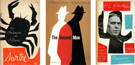 Paul Rand book covers.