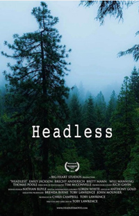 Headless movie poster