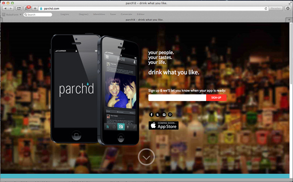 Parch'd web site