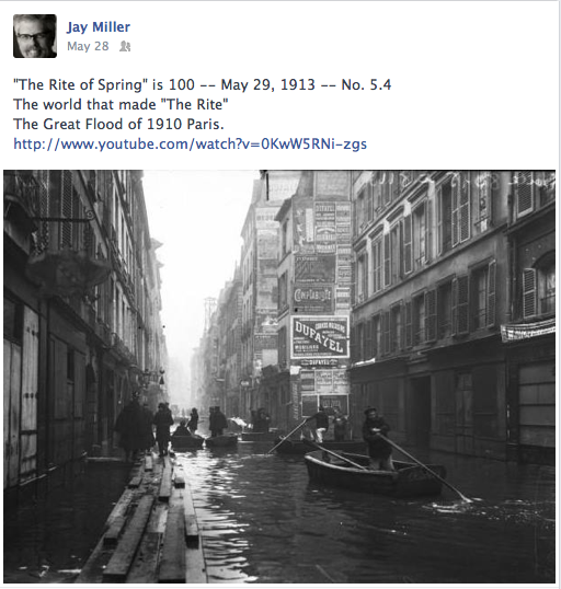 1910 great Flood of Paris